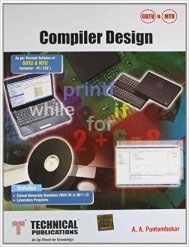 Compiler Design by Puntambekar