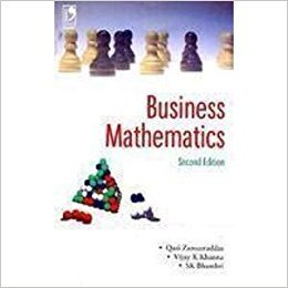 Business Mathematics by Qazi Zameeruddin