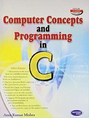 Computer Concepts and Programming in C                        Paperback Anil Kumar Mishra| Pustakkosh.com