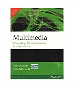 Multimedia Computing Communications  Applications 1e by Steinmetz