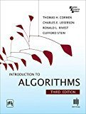 Introduction to Algorithms Thomas H. Cormen| Pustakkosh.com