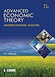 Advanced Economic Theory by H L Ahuja