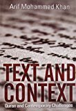 Text and Context by Arif Mohammed K