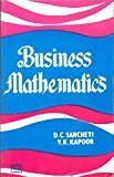 Business Mathematics                        Paperback  D.C. Sancheti | Pustakkosh.com