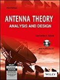 Antenna Theory Analysis and Design 3ed WILEY Interscience                        Paperback by Constantine A. Balanis (Author)| Pustakkosh.com