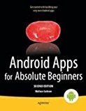Android Apps for Absolute Beginners Apress by Wallace Jackson
