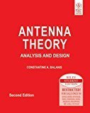 Antenna Theory Analysis and Design by Balanis