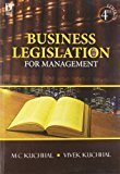 Business Legislation for Management by M.C. Kuchhal