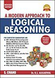 A Modern Approach to Logical Reasoning Old Edition R.S. Aggarwal by R S Aggarwal