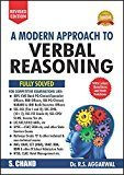 A Modern Approach to Verbal Reasoning Old Edition R.S. Aggarwal by R S Aggarwal