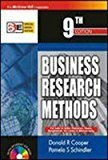 Business Research Methods with Student CD-ROM by Donald Cooper