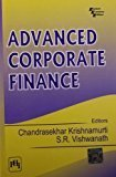 Advanced Corporate Finance by Krishnamurti