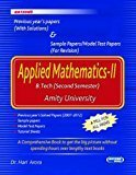 Applied Mathematics - II Previous Year Papers                        Paperback by Hari Arora (Author)| Pustakkosh.com