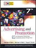 ADVERTISING AND PROMOTION AN INTEGRATED MARKETING COMMUNICATIONS PERSPECTIVE by George Belch