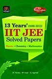 13 Years IIT JEE Solved Papers by D.C. Pandey