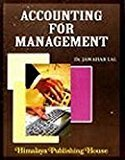 Accounting For Magement by Jawahar Lal