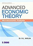 Advanced Economic Theory by H.L. Ahuja