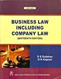 Business Law Including Company Law by S S Gulshan