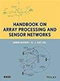 Handbook On Array Processing And Sensor Network Hb 2015 by Haykin