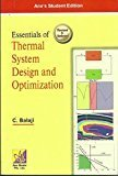 Essentials of Thermal System Design and Optimization by C. Balaji