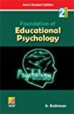 Foundation of Educational Psychology by S. Robinson