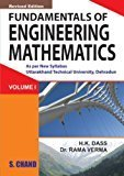Fundamental of Engineering Mathematics - Vol. 1 Uttrakhand by Dass H.K.