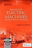 Principles of Electric Machines with Power Electronic Applications 2ed by Mohamed E. El-Hawary