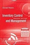 Inventory Control and Management by Donald Waters