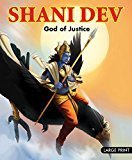Large Print Shani Dev God of Justice by Om Books Editorial Team