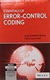 Essentials of Error-Control Coding by Patrick Guy Farrell Jorge Castineira Moreira