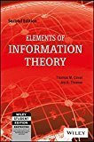 Elements of Information Theory 2ed WILEY-Interscience by Joy A. Thomas Thomas M. Cover