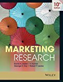 Marketing Research 10ed by David A. Aaker