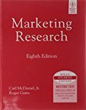 Marketing Research by Carl McDaniel Jr.
