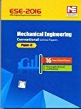 ESE - 2016 Mechanical Engineering Conventional Solved Paper II Old Edition by MADE EASY Team