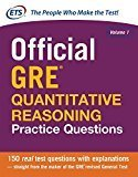 Official Gre Quantitative Reasoning Practice Questions Old Edition by ETS