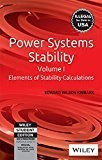 Power System Stability Vol I II III by Kimbark