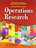 Operations Research Gautam Budha Technical University  Mahamaya University by Sharma J K