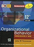 Organizational Behavior Human Behavior at Work by John Newstrom