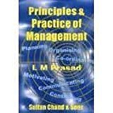 Principles And Practice Of Management by L M Prasad