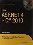 Pro ASP.NET 4 in C 2010 by Matthew Macdonald