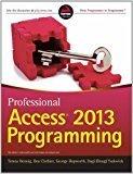 Professional Access 2013 Programming WROX by Teresa Henning