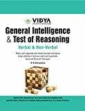 General Intelligence and Test of Reasoning by V S Srivastva