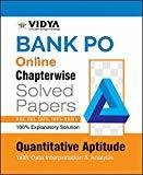 Bank POMOSO Exam Quantitative Aptitude by Vidya Editorial Board