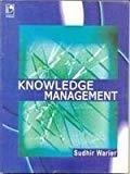Knowledge Management by Sudhir Warier