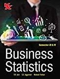 Business Statistics for Sem  III  IV B.Com.-II by T R JainS C Aggarwal