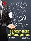Fundamentals of Management - B.Tech by R K Singla