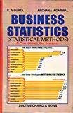Business Statistics Statistical Methods by S.P. Gupta