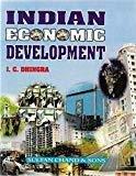 Indian Economic Development by I.C. Dhingra