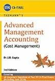 Advanced Management Accounting - Cost Management by J.B. Gupta