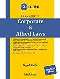 Corporate  Allied Laws - CA Final May 2017 Exams 5th Edition 2017 by Tejpal Sheth